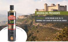Extra Virgin Olive Oil - RISERVA DEL PRESIDENTE _