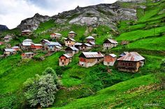 """memleketimtrabzon: """"  Trabzon-Gümüşhane sınırında yer alan Erikli Köyü """""""