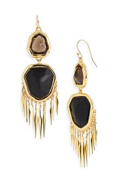 Alexis Bittar 'Miss Havisham' Large Fringe Earrings #Nordstrom