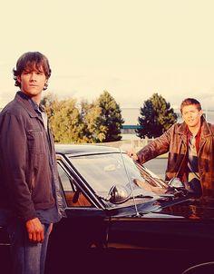 The Winchester Boys <3 #Supernatural #JensenAckles #JaredPadalecki