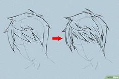 Image intitulée Draw Anime Hair Step 4