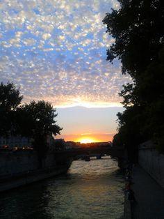 Soleil sur Seine / Notre Dame / Paris