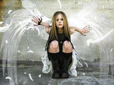Avril Lavigne - yes AVRIL LAVIGNE. OK?