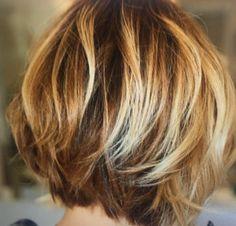 Hair cuts wavy layers pixie haircuts 20 ideas - All For Little Girl Hair Thin Hair Cuts, Bobs For Thin Hair, Short Thin Hair, Short Hair With Layers, Layered Hair, Wavy Layers, Layered Bobs, Layered Bob Hairstyles, Pixie Haircuts