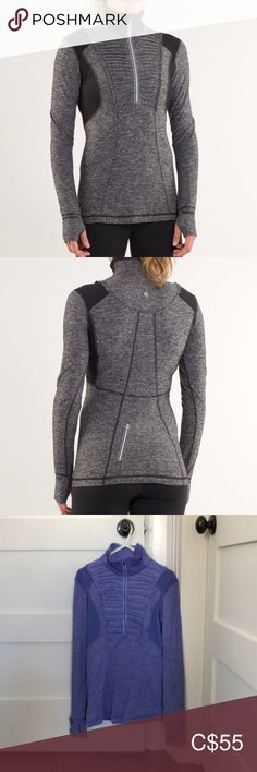 """Lululemon Long sleeve """"run your heart out """" top Plus Fashion, Fashion Tips, Fashion Design, Fashion Trends, Cold Hands, Hand Warmers, Lululemon, Arms, Running"""