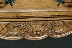 Classic Sofa, Hope Chest, Office Furniture, Belgium, Bookcase, Carving, Decorations, Antiques, Storage