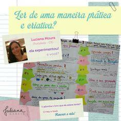 Como ler de uma maneira prática e criativa? http://julianaggarcia.com.br/como-fazer-uma-leitura-pratica-e-criativa/ #mapeandoideias