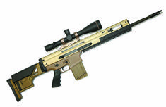 Over-engineered and made battle tough, the FN SCAR 20S offers a superb trigger and great accuracy, as well as a lot of fun. Fn Scar, Pretty Knives, Tactical Rifles, Home Defense, Cool Guns, Battle, Weapons Guns, Sew, Drawings