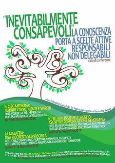 Inevitabilmente Consapevoli a Vicenza! Serie di conferenze imperdibili :-)