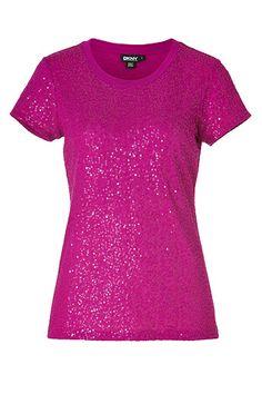 sparkly pink shirt