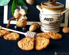 Ovesné skořicové sušenky s ořechy a medem – Na vlně chuti – Jitčiny Dobroty