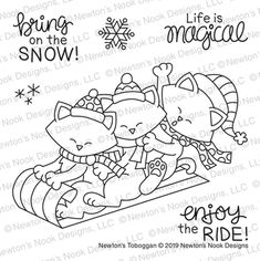 Coloring Sheets, Adult Coloring, Coloring Pages, Hand Embroidery Patterns, Embroidery Applique, Winter Cat, Journal Design, Simon Says Stamp, Digital Stamps