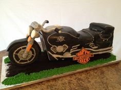 Motorcycle By Marypoppins1 on CakeCentral.com