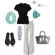 Black & Turquoise