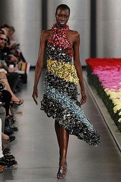 Amazing floral Swarovski dress - Mary Katrantzou