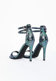 622bedad5479 Elevate your new season style in these stand out heeled sandals. These  killer heels feature