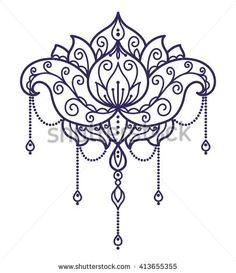 super ideas for tattoo flower neck lotus mandala Henna Hand Designs, Henna Tattoo Designs, Diy Tattoo, Modern Tattoo Designs, Sternum Tattoo Design, Flower Tattoo Designs, Flower Tattoos, Flower Designs, Design Lotus