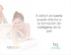 El déficit de #sueño puede afectar a la formación de #colágeno en la piel