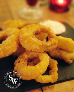 The Old Frizzle Wimbledon review, onion rings