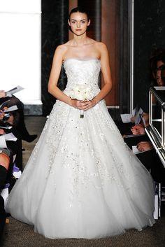 Carolina Herrera Winterhalter wedding gown