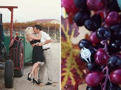 Winery Engagement Shoot - Photo Source • Cean One Photography