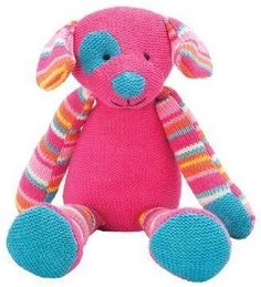 Lily & George Knitwits Daisy Dog | Toy | at Mighty Ape NZ