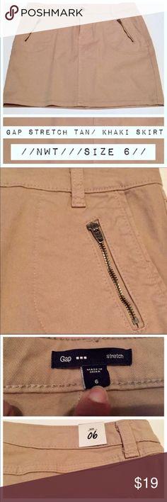 NWT GAP Stretch Mini Skirt! Size 6 Cute mini skirt by the Gap  NWT  Size 6  Never worn  ✨Bundle & Save!✨ GAP Skirts Mini
