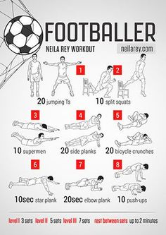 Soccer workout