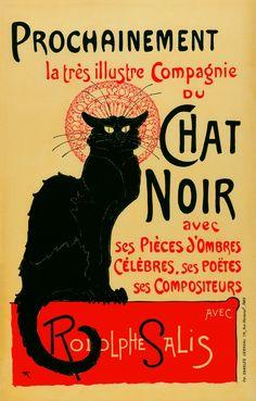 Théophile-Alexandre Steinlen The Very Illustrious Company of the Chat Noir (La très illustre Compagnie du Chat Noir), 1896