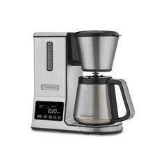 Cuisinart PurePrecision Pour-Over Coffee Brewer with Thermal Carafe, White