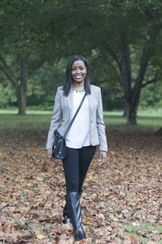 How To Do A Classic Fall Look For Less | Blitz And Glam
