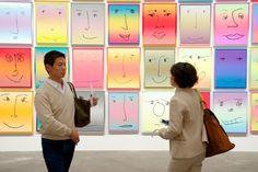 Rob Pruitt (Galerie Brown) in der Sektion Unlimited, Art Basel 2013