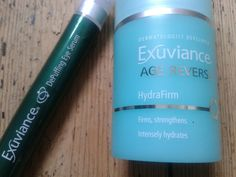Face Up Beauty: Exuviance DePuffing Eye Serum and Age Reverse Hydr...