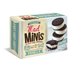 Bite-sized ice cream sandwiches from Mad Minis make me #MadforSummer! Get yours FREE via @socialnature