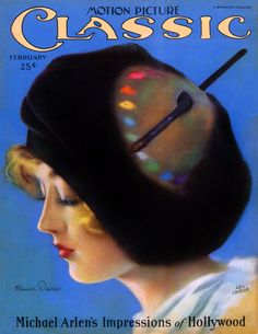 Marion Davies - Cover Art by Leo Kober - Motion Picture Classic - February 1926 Vintage Advertisements, Vintage Ads, Vintage Posters, Vintage Ephemera, Movie Magazine, Magazine Art, Magazine Covers, Magazine Images, Old Magazines
