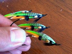 Cutty Sarks.  The tail is JC orange goose and the wing is chartreuse goose .