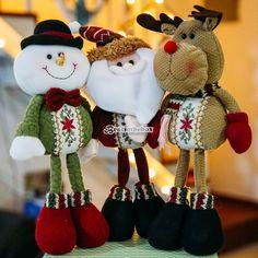 Elevenfy | 39cm Christmas Gift Smile Santa Claus Reindeer Snowman Decoration 1PCS  Baby Toy