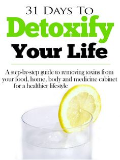 31 Days to Detoxify Your Life eBook - Nature's Nurture