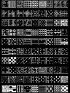 Hatchs patterns para Autocad 2d Autocad Gratis, Autocad Free, Autocad 2014, Hatch Autocad, Bloc Autocad, Architecture Program, Architecture Design, Jaali Design, Design Autos