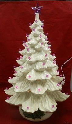 100 BIRD Doves 9 color Smooth finish CERAMIC CHRISTMAS Tree light twist star pin