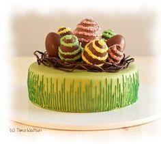 Pääsiäiskukon suklaakakku   Reseptit   Kinuskikissa