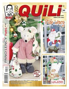 Revista Hugo Quili Paño Lency No. 60 Sewing Magazines, Book Crafts, Craft Books, Pretty Girls, Elf, Teddy Bear, Baseball Cards, Children, Pattern