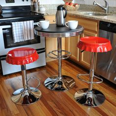 Found it at AllModern - AmeriHome Retro Soda Cap 3 Piece Pub Table Set