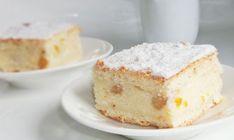 Prăjitură cu foi fragede , brânză si stafide