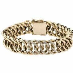 New 14k red gold big link bracelet from the new Sitana collection from Helgstrand Denmark