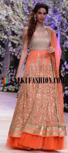 http://www.kalkifashion.com/designers/jyotsna-tiwari.html Urnashi Rautela and other models walk the ramp for Jyotsna Tiwari at Indian Bridal Week NOV 2013 at Mumbai 59
