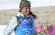 Kalla erases deficit to give Sweden gold in Olympic women's 4x5K relay. Sochi 2014.