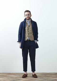 stillbyhand 2013SS Coat SH0331    ¥25,200 Vest VE0131    ¥16,800 Shirt SH0931   ¥15,750 Pants DN0131   ¥16,800