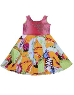 Kids dresses for weddings, done the TwirlyGirl way. These are reversible, which comes in handy. Because girls sometimes change their minds on wedding days. $78