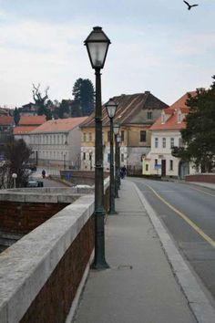 Picture taken from Sisak's historic old bridge (Stari most) in town center Croatia, Bridge, Photos, Pictures, Urban, Street, City, Bridges, Bro